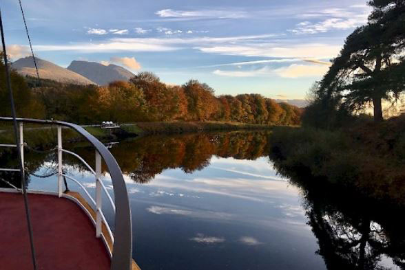 caledonian canal cruise and wedding boat hire