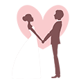 Wedding Couple Logo